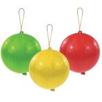 "Punch Balls Assorted Colours Latex Balloons 11""/27.5cm - 10PKG/3"