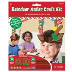 Reindeer Antler Craft Kits - 15 PKG/4