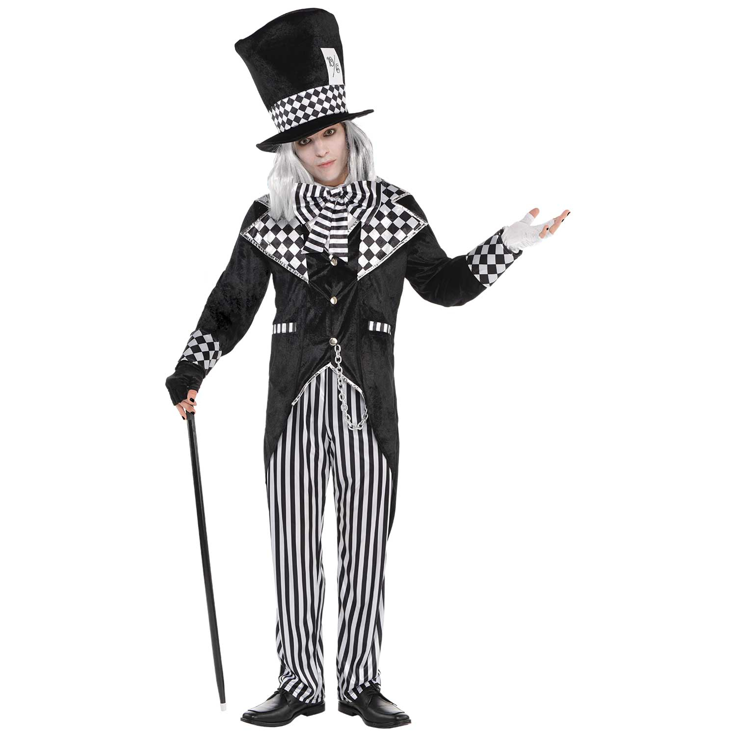 23a18f61feb Totally Mad Hatter Costume - Size Standard - 1 PC : Amscan International