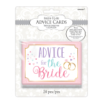 Advice for the Bride Cards - 12 PKG/24