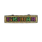 Hawaiian Tiki Bar Sign 1.11m x 26cm x 4cm - 12 PC