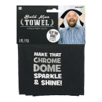 Bald Man Towels - 12 PC