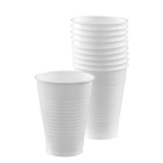 Frosty White Plastic Cups 355ml - 20 PKG/50