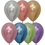 "Reflex Assorted Latex Balloons 12""/30cm - 50 PC"