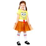 SpongeBob SquarePants Dress - Age 8-10  Years - 1 PC