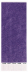 Purple Wristbands - 3 PKG/250
