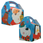 Christmas Penguin & Santa Party Boxes - 75 PC