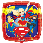 DC Super Hero Girls Standard Foil Balloons S60 - 5 PC