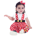 Disney Minnie Pinafore - Age 3-12 Months - 1 PC