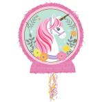 Magical Unicorn Pull Pinatas 32cm x 46cm - 4 PC