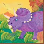 Prehistoric Party Beverage Napkins - 12 PKG/16