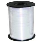 Iridescent White Ribbon Spool 230m x 5mm - 1 PC
