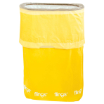 Yellow Fling Bins - 6 PKG/2