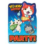 Yo-Kai Watch Postcard Invitations - 6 PKG/8
