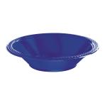 Bright Royal Blue Plastic Bowls 355ml - 10 PKG/10