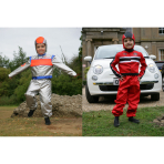 Astronaut/Racing Driver 2 in 1 Costume - Age 3-5 Years - 1 PC