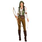 Robin Hood Huntress Costume - Size 10-12- 1 PC