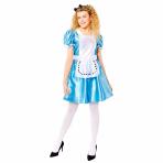 Alice in Wonderland Costume - Size 16-18 - 1 PC