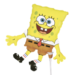 SpongeBob SquarePants Mini Shape Foil Balloons A30 - 5 PC