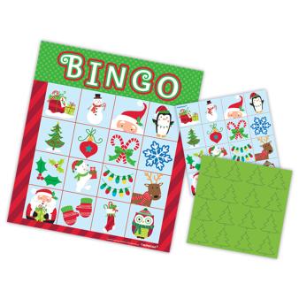 Christmas Bingo Game - 9 PC