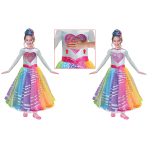 Barbie Deluxe Rainbow Magic Dress - Age 3-5 Years - 1 PC