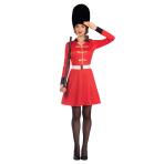 Royal Guard Costume - Size 16-18 - 1 PC