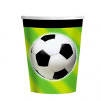 Championship Soccer Paper Cups 266ml - 12 PKG/8