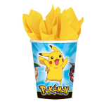 Pokémon Paper Cups 266ml - 6 PKG/8