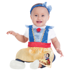 Snow White Pinafore - Age 1-2 Years - 1 PC