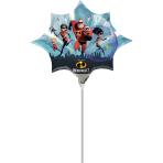 The Incredibles 2 Mini Shape Foil Balloons A30 - 5 PC