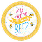 What Will It Bee? Paper Plates 26cm - 12 PKG/8
