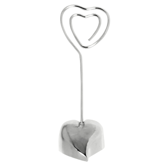 Loving Heart Placecard Holders - 24 PC
