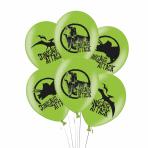 """Dinosaur Attack Latex Balloons 11""""/27.5cm - 6PKG/6"""