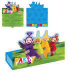 Teletubbies Stand-up Invitations & Envelopes - 6 PKG/8