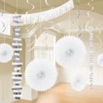 White Room Decoration Kits - 6 PKG/18