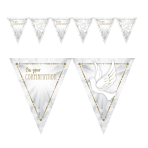 Confirmation Dove Pennant Banners 4m - 6 PC