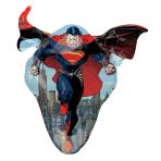"""Superman Man of Steel SuperShape Foil Balloons 31""""/78cm w x 31""""/78cm h P38 - 5 PC"""