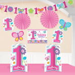 Sweet Birthday Girl Room Decorating Kits - 12 PKG