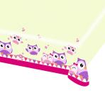 Owls Plastic Tablecovers 1.2m x 1.8m - 10 PC