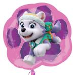 "Paw Patrol Pink Skye & Everest SuperShape Foil Balloon 25""/63cm x 23""/58cm P38 - 5 PC"