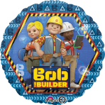 Bob the Builder Standard Foil Balloons S60 - 5 PC