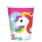Unicorn Paper Cups 266ml - 10 PKG/8