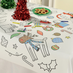 Colour in Paper Tablecovers 91cm x 1.2m - 6 PC