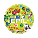 Epic Party Paper Plates 23cm - 12 PKG/8