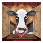 Western Pin the Cow Games - 18 PKG/4