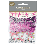 1st Communion Pink Confetti 34g - 6 PC