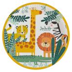 Get Wild Paper Plates 23cm - 6 PKG/8