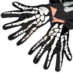 Skeleton Grim Reaper Gloves - 6 PC