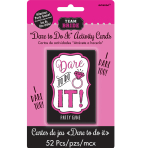 Hen Party Truth or Dare Games - 6 PKG/52
