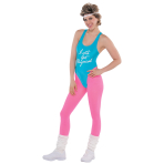 Totally 80s Getting Physical Costume Kit - 2 PC